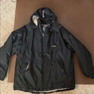 Adidas Men's Winter Jacket Black Size Large